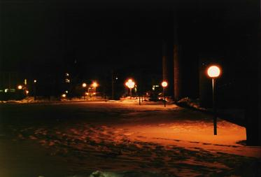 Picture of Life Sciences Quad by Night